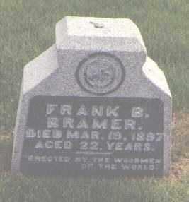 BRAMER, FRANK B. - Jefferson County, Colorado   FRANK B. BRAMER - Colorado Gravestone Photos