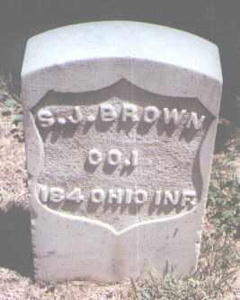BROWN, S. J. - Jefferson County, Colorado | S. J. BROWN - Colorado Gravestone Photos