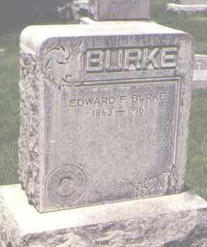 BURKE, EDWARD F. - Jefferson County, Colorado | EDWARD F. BURKE - Colorado Gravestone Photos