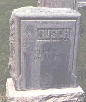 BUSCH, PETER A. - Jefferson County, Colorado | PETER A. BUSCH - Colorado Gravestone Photos