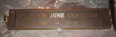 CHAMBERS, ELEANOR JUNE - Jefferson County, Colorado | ELEANOR JUNE CHAMBERS - Colorado Gravestone Photos