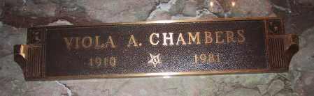 CHAMBERS, VIOLA ANN - Jefferson County, Colorado   VIOLA ANN CHAMBERS - Colorado Gravestone Photos