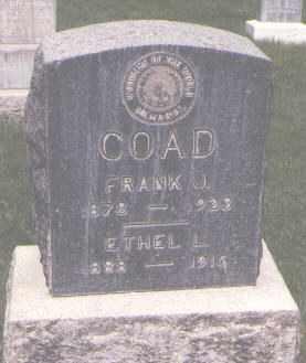 COAD, ETHEL L. - Jefferson County, Colorado   ETHEL L. COAD - Colorado Gravestone Photos