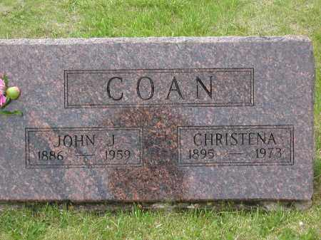 FLANAGAN COAN, CHRISTENA FRANCES - Jefferson County, Colorado | CHRISTENA FRANCES FLANAGAN COAN - Colorado Gravestone Photos