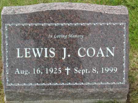 COAN, LEWIS JOHN - Jefferson County, Colorado | LEWIS JOHN COAN - Colorado Gravestone Photos