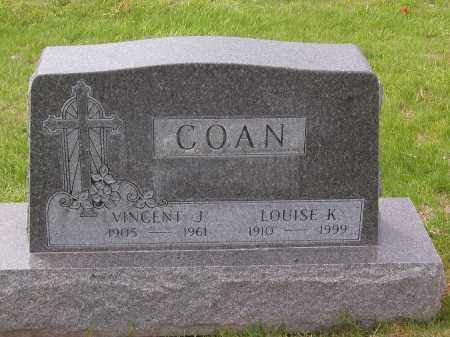 COAN, VINCENT JAMES - Jefferson County, Colorado | VINCENT JAMES COAN - Colorado Gravestone Photos