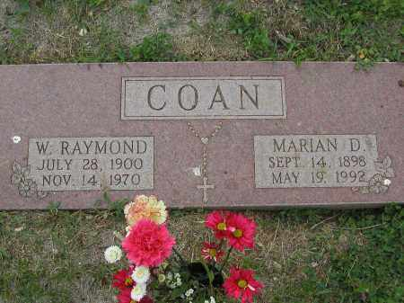COAN, WILLIAM RAYMOND - Jefferson County, Colorado | WILLIAM RAYMOND COAN - Colorado Gravestone Photos