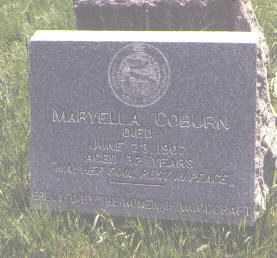 COBURN, MARYELLA - Jefferson County, Colorado   MARYELLA COBURN - Colorado Gravestone Photos