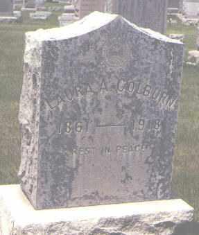 COLBURN, LAURA A. - Jefferson County, Colorado   LAURA A. COLBURN - Colorado Gravestone Photos