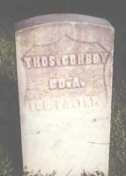 CONBOY, THOMAS - Jefferson County, Colorado | THOMAS CONBOY - Colorado Gravestone Photos