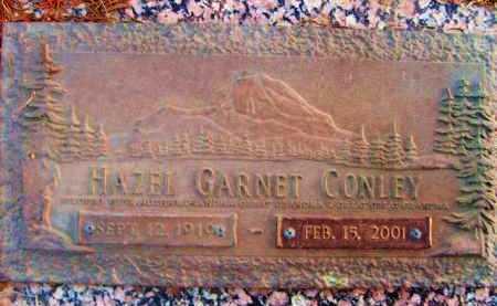 CONLEY, HAZEL GARNET - Jefferson County, Colorado | HAZEL GARNET CONLEY - Colorado Gravestone Photos