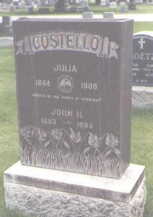 COSTELLO, JULIA - Jefferson County, Colorado | JULIA COSTELLO - Colorado Gravestone Photos