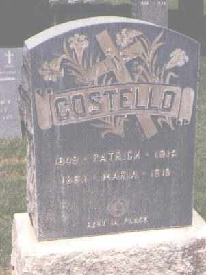 COSTELLO, MARIA - Jefferson County, Colorado | MARIA COSTELLO - Colorado Gravestone Photos