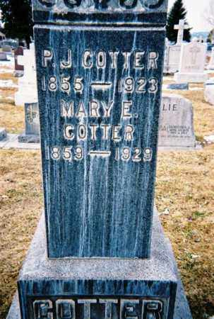 COTTER, MARY - Jefferson County, Colorado | MARY COTTER - Colorado Gravestone Photos