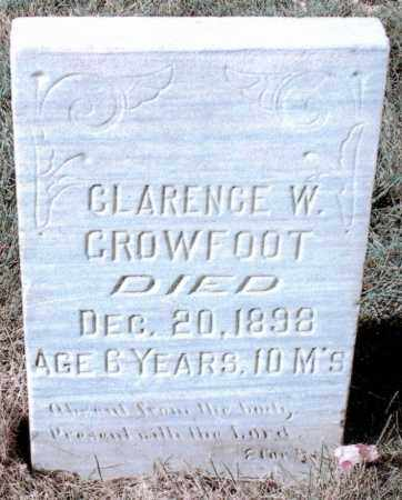 CROWFOOT, CLARENCE W - Jefferson County, Colorado | CLARENCE W CROWFOOT - Colorado Gravestone Photos