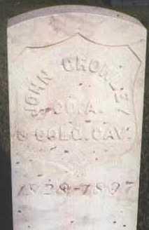 CROWLEY, JOHN - Jefferson County, Colorado   JOHN CROWLEY - Colorado Gravestone Photos