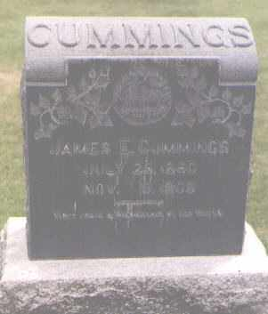 CUMMINGS, JAMES E. - Jefferson County, Colorado   JAMES E. CUMMINGS - Colorado Gravestone Photos