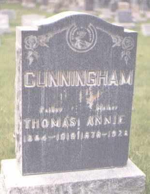 CUNNINGHAM, THOMAS - Jefferson County, Colorado   THOMAS CUNNINGHAM - Colorado Gravestone Photos