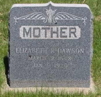 BLANE DAWSON, ELIZABETH R - Jefferson County, Colorado | ELIZABETH R BLANE DAWSON - Colorado Gravestone Photos
