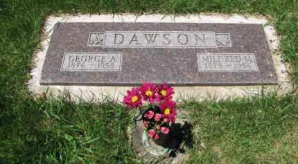 DAWSON, MILDRED M - Jefferson County, Colorado | MILDRED M DAWSON - Colorado Gravestone Photos
