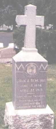 DEMLING, JOHN A. - Jefferson County, Colorado | JOHN A. DEMLING - Colorado Gravestone Photos
