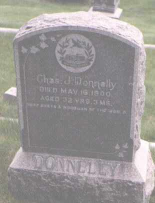 DONNELLY, CHARLES J. - Jefferson County, Colorado | CHARLES J. DONNELLY - Colorado Gravestone Photos