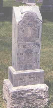 DORSEY, THOMAS - Jefferson County, Colorado | THOMAS DORSEY - Colorado Gravestone Photos
