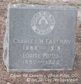EASTMAN, CHARLES H. - Jefferson County, Colorado | CHARLES H. EASTMAN - Colorado Gravestone Photos