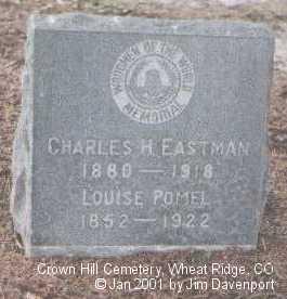 EASTMAN, CHARLES H. - Jefferson County, Colorado | CHARLES H. EASTMAN - Colorado Gravestone Photos