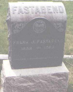 FASTABEND, FRANK J. - Jefferson County, Colorado   FRANK J. FASTABEND - Colorado Gravestone Photos