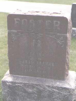 FOSTER, LOUISE - Jefferson County, Colorado | LOUISE FOSTER - Colorado Gravestone Photos