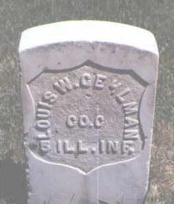 GEHLMAN, LOUIS W. - Jefferson County, Colorado | LOUIS W. GEHLMAN - Colorado Gravestone Photos