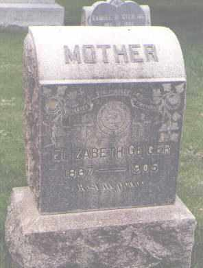 GEIGER, ELIZABETH - Jefferson County, Colorado | ELIZABETH GEIGER - Colorado Gravestone Photos