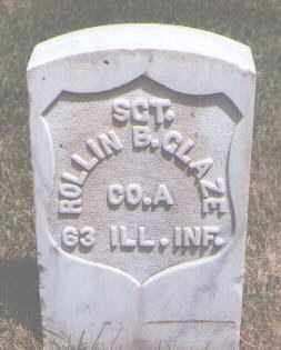 GLAZE, ROLLIN B. - Jefferson County, Colorado | ROLLIN B. GLAZE - Colorado Gravestone Photos