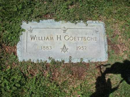 GOETTSCHE, WILLIAM H. - Jefferson County, Colorado | WILLIAM H. GOETTSCHE - Colorado Gravestone Photos