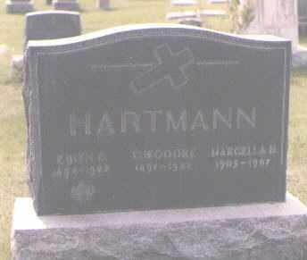 HARTMAN, THEODORE - Jefferson County, Colorado | THEODORE HARTMAN - Colorado Gravestone Photos