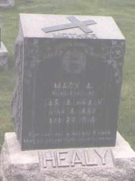 HEALY, MARY A. - Jefferson County, Colorado | MARY A. HEALY - Colorado Gravestone Photos