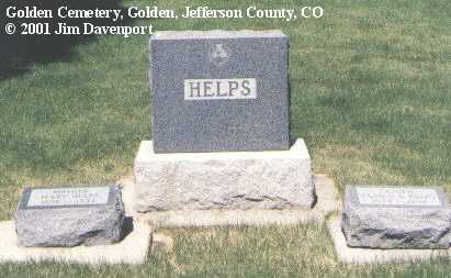 HELPS, MARY - Jefferson County, Colorado | MARY HELPS - Colorado Gravestone Photos