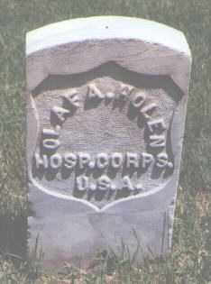 HOLEN, OLAF A. - Jefferson County, Colorado | OLAF A. HOLEN - Colorado Gravestone Photos