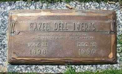 IWERKS, HAZEL DELL - Jefferson County, Colorado | HAZEL DELL IWERKS - Colorado Gravestone Photos