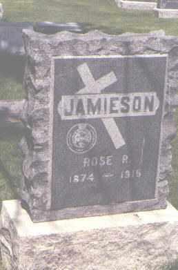 JAMIESON, ROSE R. - Jefferson County, Colorado | ROSE R. JAMIESON - Colorado Gravestone Photos