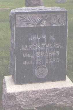 JAROSZYNSKI, JULIA H. - Jefferson County, Colorado | JULIA H. JAROSZYNSKI - Colorado Gravestone Photos