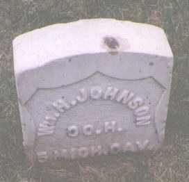 JOHNSON, WILLIAM H. - Jefferson County, Colorado | WILLIAM H. JOHNSON - Colorado Gravestone Photos