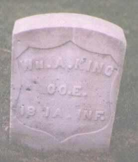 KING, WILLIAM A. - Jefferson County, Colorado   WILLIAM A. KING - Colorado Gravestone Photos