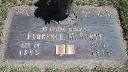 KURTZ, FLORENCE MAY - Jefferson County, Colorado | FLORENCE MAY KURTZ - Colorado Gravestone Photos