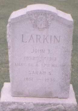 LARKIN, JOHN T - Jefferson County, Colorado | JOHN T LARKIN - Colorado Gravestone Photos