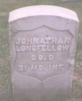 LONGFELLOW, JOHNATHAN - Jefferson County, Colorado | JOHNATHAN LONGFELLOW - Colorado Gravestone Photos