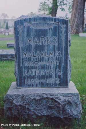 MARKS, MALCOLM C. - Jefferson County, Colorado | MALCOLM C. MARKS - Colorado Gravestone Photos