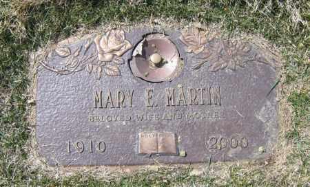 MARTIN, MARY ELIZABETH - Jefferson County, Colorado   MARY ELIZABETH MARTIN - Colorado Gravestone Photos
