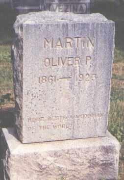 MARTIN, OLIVER P. - Jefferson County, Colorado | OLIVER P. MARTIN - Colorado Gravestone Photos